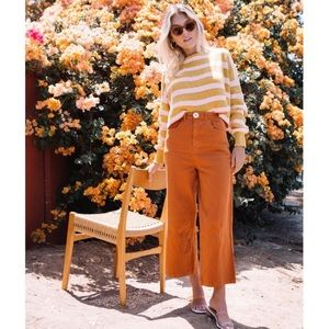 Whimsy + Row High Rise Flora Pant